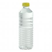 Bouteille en plastique de vinaigre blanc ménager