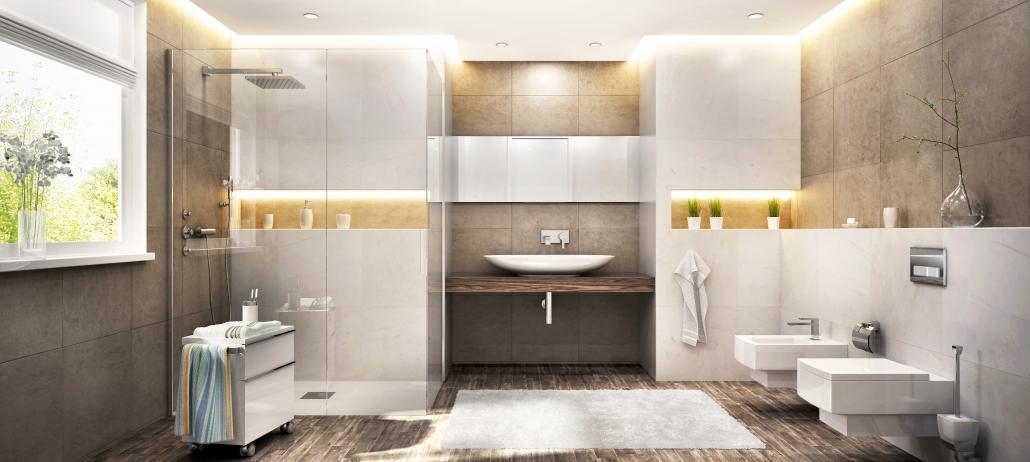 Travaux d'électricité dans la salle de bain