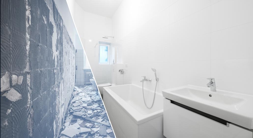 Repeindre une salle de bain ancienne