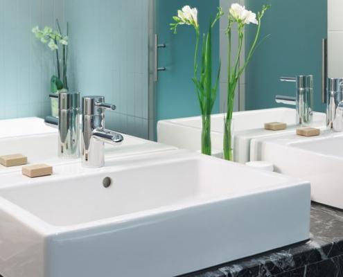 Installation sanitaire : lavabo