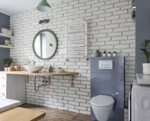Salle de bain industrielle : le point