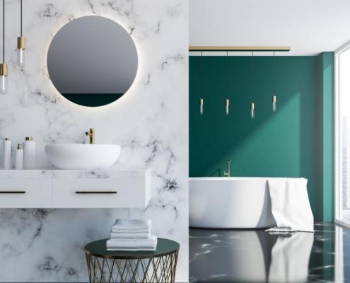 Avoir une miroir anti-buée pour salle de bain