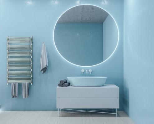 Miroir anti-buée salle de bain